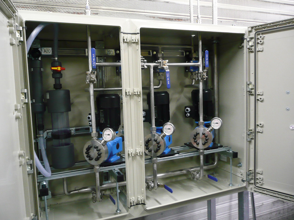 SNCR pump cabinet Reduction agent